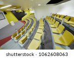 auditorium with chairs and... | Shutterstock . vector #1062608063