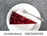 cheesecake with chocolate crumb ... | Shutterstock . vector #1062634433