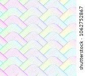 abstract vector wavy background | Shutterstock .eps vector #1062752867