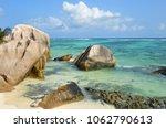 granite rocky beaches on... | Shutterstock . vector #1062790613