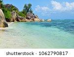 granite rocky beaches on... | Shutterstock . vector #1062790817