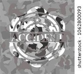 accident written on a grey...   Shutterstock .eps vector #1062800093