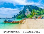 tonsai beach bay with... | Shutterstock . vector #1062816467