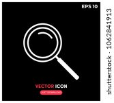 search vector icon illustration