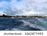 view of the island from the...   Shutterstock . vector #1062877493