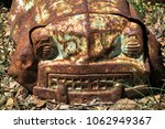old rusted toy truck | Shutterstock . vector #1062949367