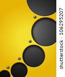 abstract metallic background....   Shutterstock .eps vector #106295207