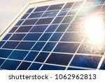 solar elements closeup with... | Shutterstock . vector #1062962813