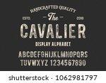 original display alphabet.... | Shutterstock .eps vector #1062981797