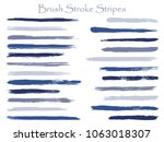 watercolor  ink or paint brush... | Shutterstock .eps vector #1063018307