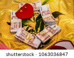 traditional thai wedding dowry...   Shutterstock . vector #1063036847