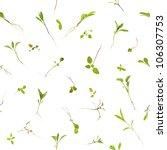 repeatable plant seedlings ...   Shutterstock . vector #106307753