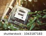 electrical equipment.... | Shutterstock . vector #1063187183