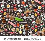vector flat seamless texture...   Shutterstock .eps vector #1063404173