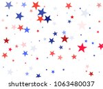 american independence day stars ... | Shutterstock .eps vector #1063480037