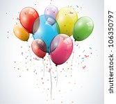 Transparent Birthday Balloons
