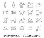 hostel facilities icon set 1.... | Shutterstock .eps vector #1063523843