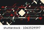 art design music background | Shutterstock .eps vector #1063529597