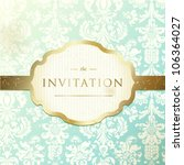 invitation to the wedding or