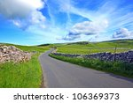 yorskshire dales on a beautiful ... | Shutterstock . vector #106369373