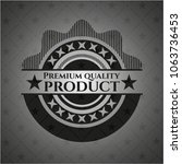 premium quality product... | Shutterstock .eps vector #1063736453