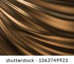 luxury golden liquid or wave... | Shutterstock . vector #1063749923