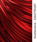 smooth elegant silk or satin.... | Shutterstock . vector #1063750187