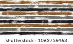 modern watercolor brush stripes ... | Shutterstock .eps vector #1063756463