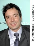 jimmy fallon at the world... | Shutterstock . vector #106386413