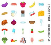 useful product icons set.... | Shutterstock . vector #1063866437