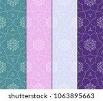 retro seamless pattern... | Shutterstock .eps vector #1063895663