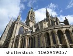 cathedral in bayeux  normandy | Shutterstock . vector #1063919057