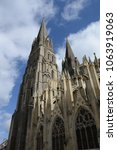 cathedral in bayeux  normandy | Shutterstock . vector #1063919063
