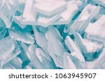 ice cracked breaking background ... | Shutterstock . vector #1063945907