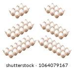 flat isometric illustration of... | Shutterstock .eps vector #1064079167