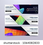 abstract design template fluid... | Shutterstock .eps vector #1064082833