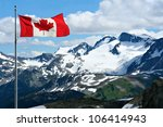 rocky mountains at whistler ... | Shutterstock . vector #106414943