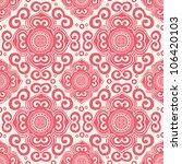 ornate seamless pattern ... | Shutterstock .eps vector #106420103
