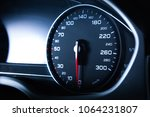 close up modern car dashboard | Shutterstock . vector #1064231807