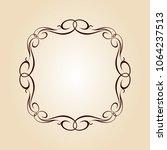 vector retro frames .vector... | Shutterstock .eps vector #1064237513