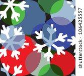 christmas wrapper design | Shutterstock .eps vector #106425557
