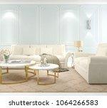 interior living room  modern... | Shutterstock . vector #1064266583