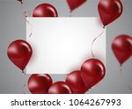 celebration and party... | Shutterstock .eps vector #1064267993