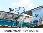 Several Satellite Dishes...