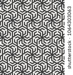 geometric vector pattern ... | Shutterstock .eps vector #1064303063