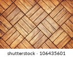 Parquet floor background - grunge element for design - stock photo