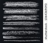 dynamic vector brush on the... | Shutterstock .eps vector #1064369093
