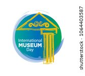 international museum day | Shutterstock .eps vector #1064403587