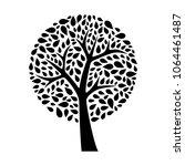 tree. vector illustration | Shutterstock .eps vector #1064461487