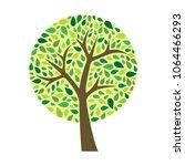 tree. vector illustration | Shutterstock .eps vector #1064466293